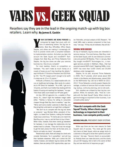 VARs vs Geek Squad